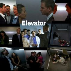 That elevator has been through a lot.
