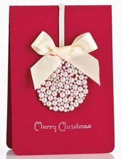 Felicitación elegante de Navidad