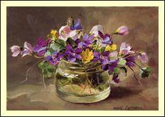 Wild Violet and Wood Sorrel