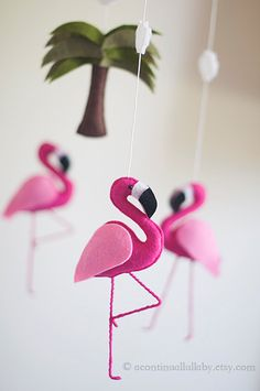 Hot Pink Flamingo Mo