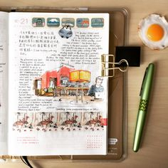 A blog about a creative journey in the Hobonichi with sketches, stationery, journaling habits, and other planner tools.
