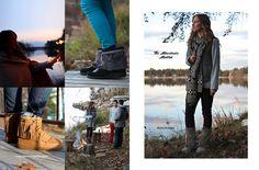 Cozy + Comfort = The Minnetonka Mukluk & Sheepskin Tramper Boot