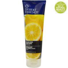 Desert Essence, итальянский лимон Кондиционер, восстанавливающий, 8 жидких унций (237 мл)