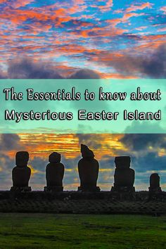 Easter Island lies in the middle of the Pacific Ocean. It takes more than 5 hours by plane from Chile to get to one of the most remote places on our planet. Come with us to explore the mystical history of Easter Island, while we show you some the sites that you can't miss out on when visiting it. Click to read more about this fascinating island.