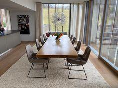 Ideal für viele Gäste: #Esstisch LIM von #mdfitalia in #grau