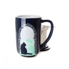 Moroccan Cats Colour Changing Nordic Mug Davids Tea, Cat Colors, Tea Mugs, Tea Time, Color Change, Moroccan, Coffee Cups, Tea Online, Tea Gifts