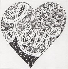 I finally have found a name for this style of art that I love so much... and that name is the ZENDOODLE