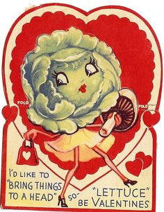 Lettuce be Valentines!