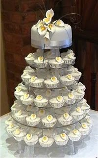 Beautiful Bridal: Wedding Cupcake Cakes