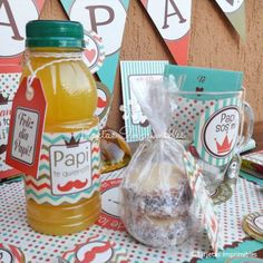 kit-imprimible-desayunos-dia-del-padre-vintage-4 Dad Day, Mom And Dad, Ideas Día Del Padre, Surprise Box, Party In A Box, Candy Boxes, Stuffed Sweet Peppers, Lets Celebrate, Happy Fathers Day