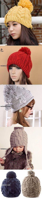 Какие вязаные шапки в моде? | Вяжем с Ланой