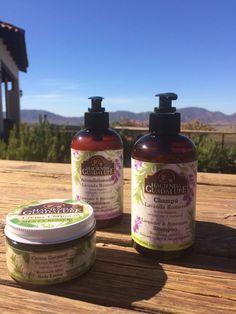 Champúl y Acondicionador Herbal. Exclusivos de Hacienda Guadalupe @haguadalupe