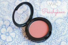 MAC cosmetics peachykeen blush