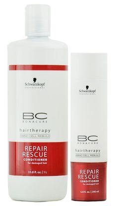 Schwarzkopf BC Bonacure Repair Rescue Conditioner my favorite!!!
