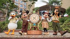 Hong Kong Disneyland Resort Celebrates the Grand Opening of Disney Explorers Lodge | Disney Parks Blog