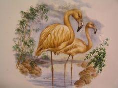 Wenczel-6-x-6-Tile-Trivet-Backsplash-Flamingo-Tropical-Beach-Tile-Art