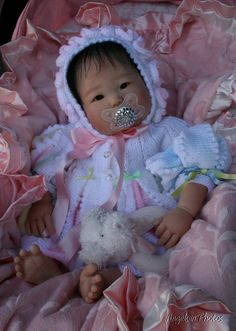 Anming Reborn Asian Doll Sculpted by Ping Lau by angelsunawares, $549.99