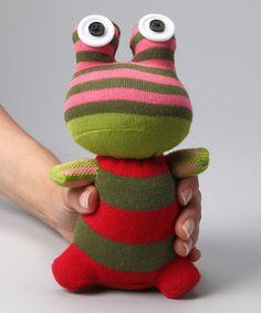 NO3NO4 Lido the Frog Sock Doll