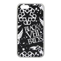 Чехол на айфон 5 Black Veil Brides logos / Магазин футболок Concert Merch