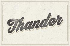 Thander by artimasa on Creative Market