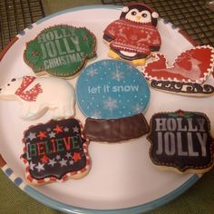 Christmas Airbrush Set.  Mary's Cookie Madness. 2015.