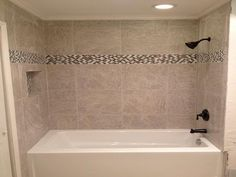 Image result for shower tub tile