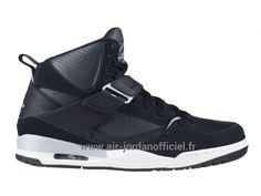 cheap for discount ffc49 105f7 Jordan Flight 45 (2014) - Chaussures Nike Air Jordan Pour Homme Noir Gris