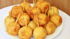 Well, Very Delicious - Chicken Nuggets with Raw Cheese .- Well, very tasty – Chicken Nuggets with Cheese! Chicken Dishes For Dinner, Raw Cheese, Marinated Chicken Recipes, Snack Recipes, Cooking Recipes, Good Food, Yummy Food, Romanian Food, Hungarian Recipes