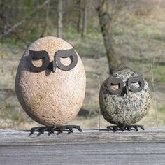 Image result for how to metal and rock garden art