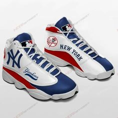 New York Yankees, Cleats, Sports, Football Boots, Hs Sports, Cleats Shoes, Soccer Shoes, Excercise, Sport