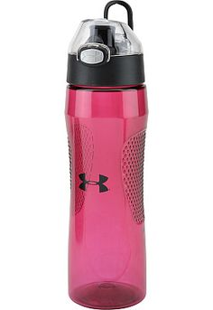 My favorite water bottle for the gym. UNDER ARMOUR Leak-Proof Hydration Bottle.