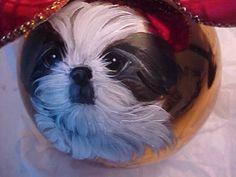 Cockatoo Christmas ornament, hand painted | Painted christmas ...