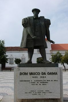 Vasco da Gama, 1st Count of Vidigueira (Sines or Vidigueira, Alentejo, Portugal, around 1460 or 1469 – 24 December 1524 in Kochi, India) was a Portuguese explorer, one of the most successful in the European Age of Discovery and the commander of the first ships to sail directly from Europe to India. For a short time in 1524 he was Governor of Portuguese India under the title of Viceroy. Alentejo, Portugal