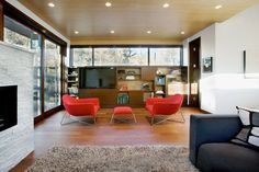 Amazing Living Room Small Contemporary House Style