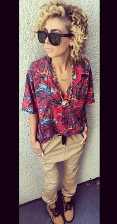 Hawaiian Shirt Outfit. Urban Fashion. Urban Outfit. Hip Hop Style. Swag. Dope. Urban Style