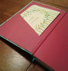 Cuaderno con bolsillo! #bookbinding