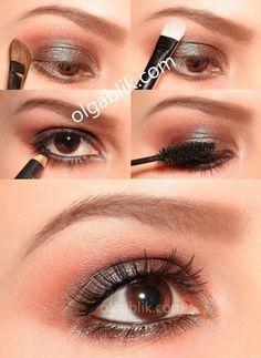 Maquillaje de ojo para noche