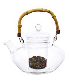Bamboo Forest Glass Teapot