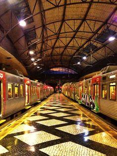 Estação do Rossio, Lisboa.