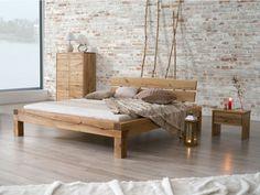 łóżko dębowe, kolekcja Dream Bedroom