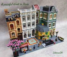 Lego Creative, Lego Boards, Amazing Lego Creations, Lego Modular, Lego Construction, Lego Design, Lego Projects, Lego Moc, Lego Building