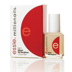 for those of you who have trouble growing your nails - Essie Millionails is the most unbelievable product and will help your nails grow fast and keep them strong