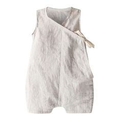 DESCRIPTION A super chic, new take on their kimono gown with a sleeveless short romper cut from cozy double weave cotton. Dove grey cotton milled in Japan Baby Kimono, Baby Dress, Fashion Kids, Girl Fashion, Baby Girl Pants, Baby Wearing, Baby Boy Outfits, Crochet Baby, Boy Clothing