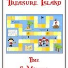 Treasure Island Pirates Math Folder Game - Time within Five Minutes   This file is for one math file folder game. All you really need besides this ...