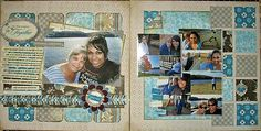 layouts using authentique paper - Google Search