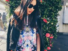 FLOWER CHILD | Following-mi streetstyle fashion tokyo japan asos colors leather