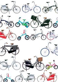 Ze ontworpen allerlei soorten fietsen.