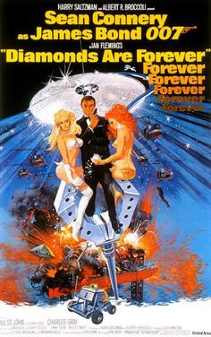 1971 - Diamonds are forever met Sean Connery