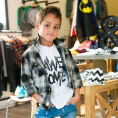 Trendy clothes for boys