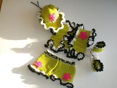 Cowgirl Short Set - Texas Cowgirl Outfit - Crochet Cowgirl hats - Cowgirl boots - Crochet boots - Crochet Western Wear - Baby Cowgirl Set - pinned by pin4etsy.com